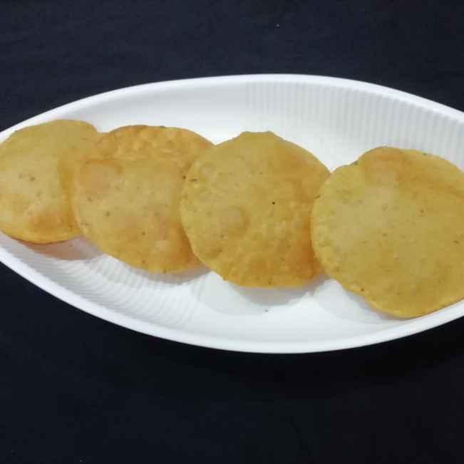 Photo of gram flour puri by Urvashi Belani at BetterButter