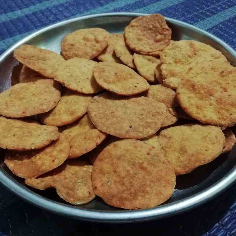 Photo of Gram flour papdi by Urvashi Belani at BetterButter
