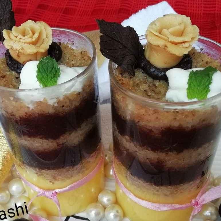 Photo of Lapsi choco pudding by Urvashi Belani at BetterButter