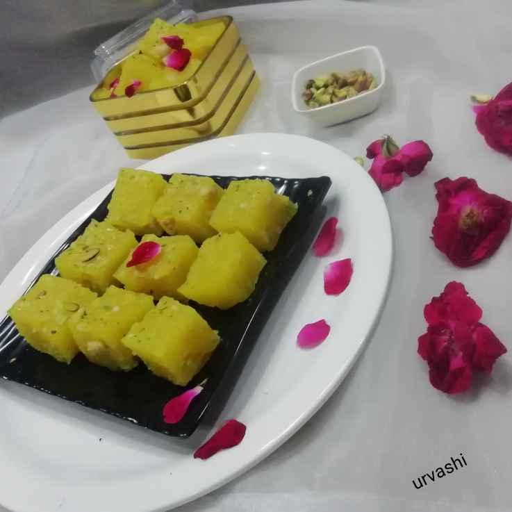Photo of Karanchi halwa by Urvashi Belani at BetterButter