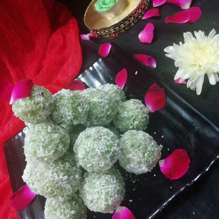 Photo of Instant pan laddu by Urvashi Belani at BetterButter