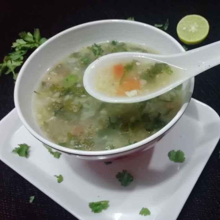 Photo of Lemon Coriander Soup by Urvashi Belani at BetterButter