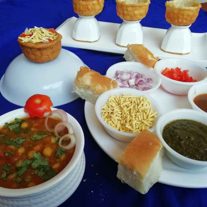 Photo of Sev usal basket chaat by Urvashi Belani at BetterButter