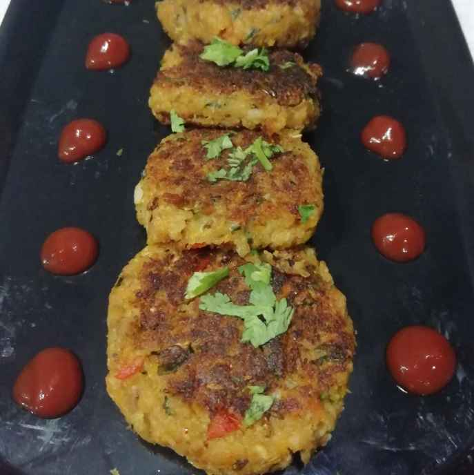 Photo of Mix veg soya kabab by Urvashi Belani at BetterButter