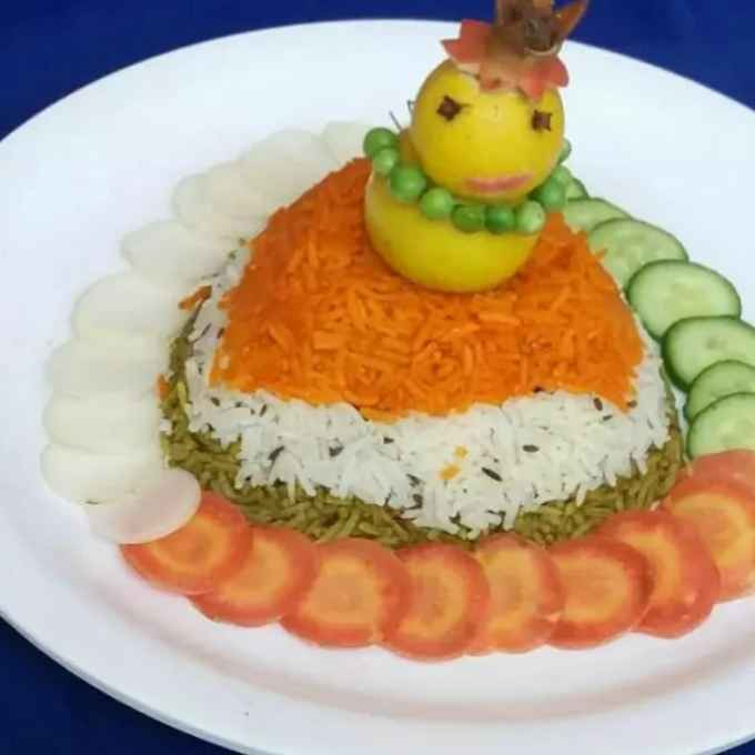 Photo of Tiranga biryani by Urvashi Belani at BetterButter