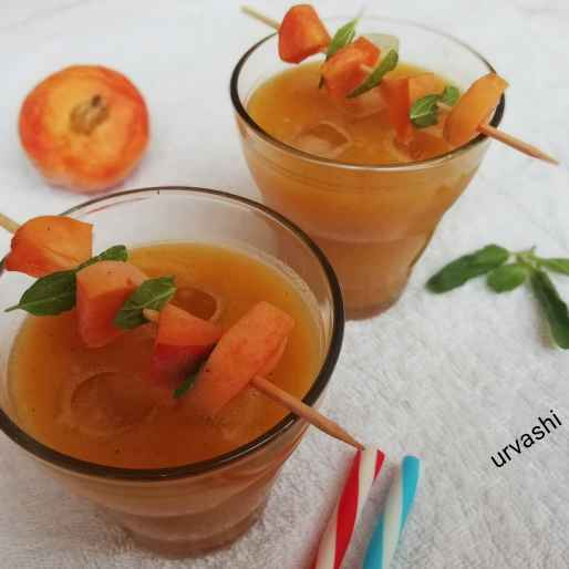 Photo of Peach tulsi delight by Urvashi Belani at BetterButter