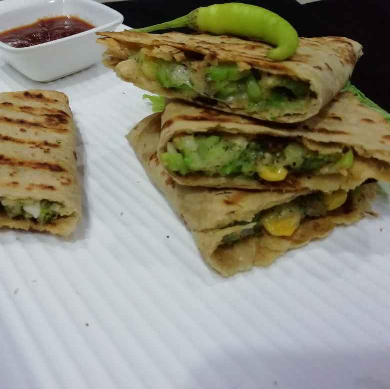 Photo of Broccoli quesadilla by Urvashi Belani at BetterButter