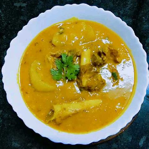 How to make DAL GOSHT