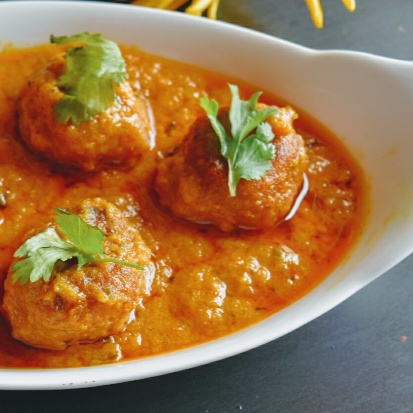How to make Kancha peppe'r kofta curry(Raw papaya veg balls curry)