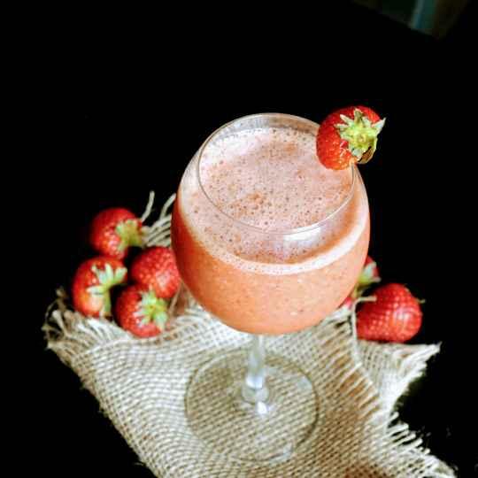 Photo of Strawberry Daiquiri (mocktail) by usashi mandal at BetterButter