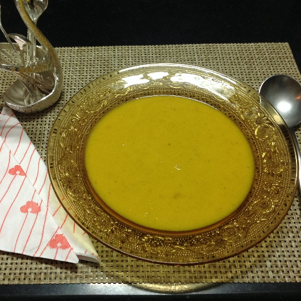 How to make Pumpkin soup with Coconut milk