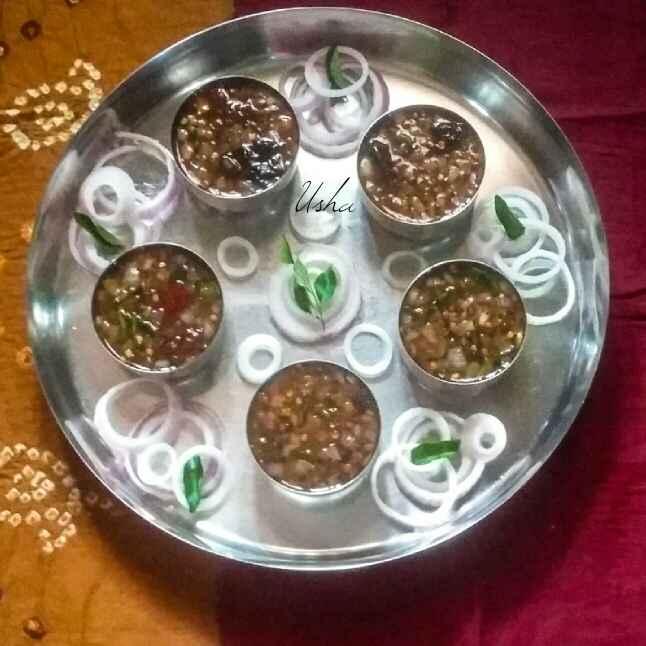How to make Onion gojju
