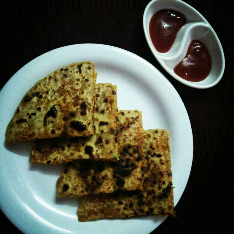 Photo of Leftover rice paratha by Usha Bohraa at BetterButter