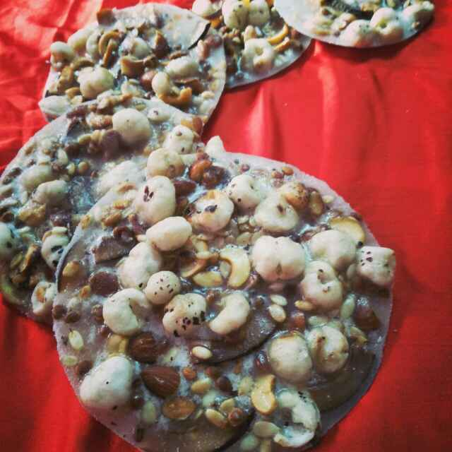 How to make Dry fruit paag