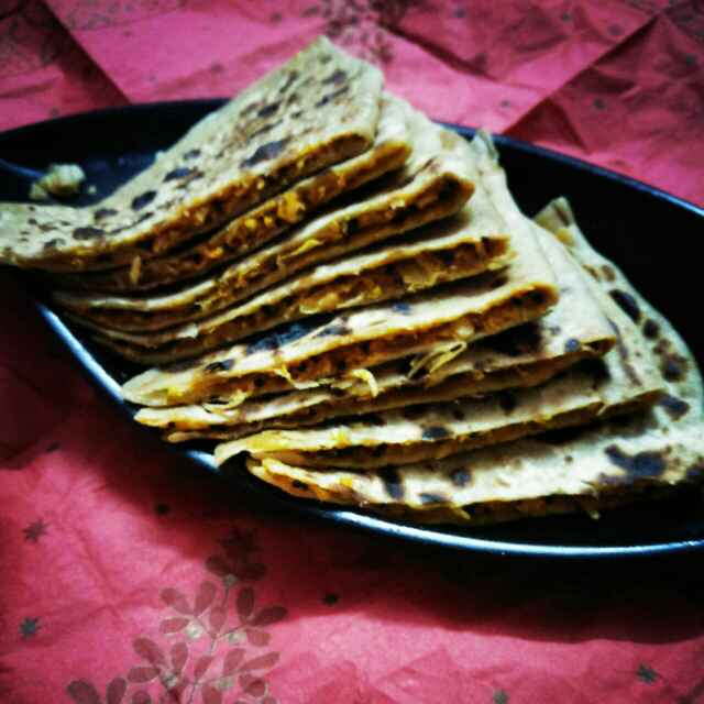 Photo of Mooli ka paratha by Usha Bohraa at BetterButter