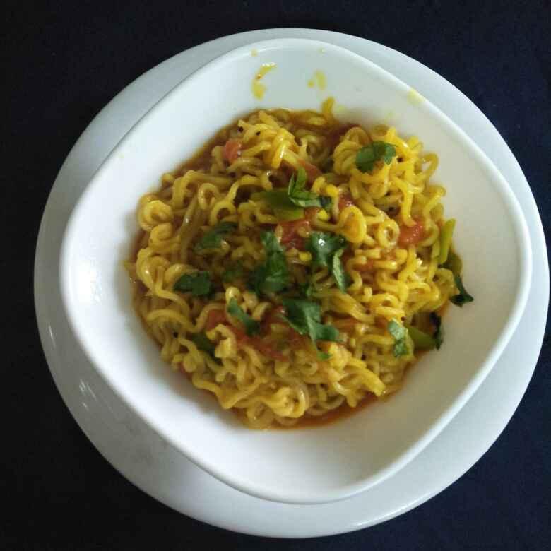 How to make masala Maggi