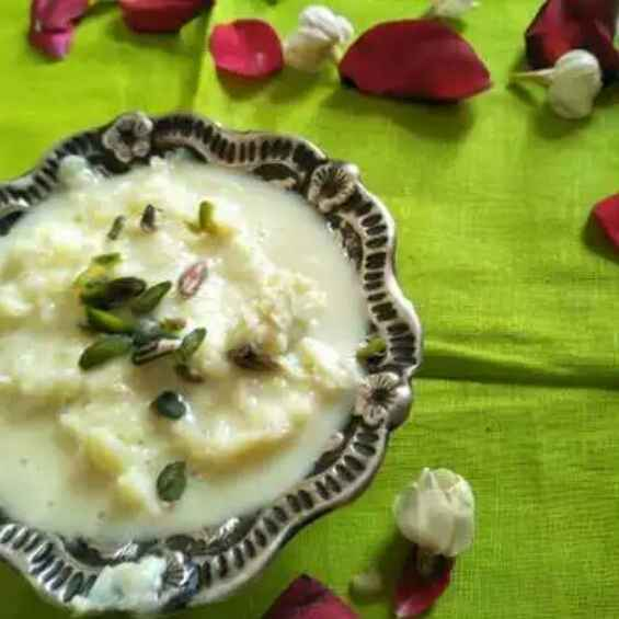 How to make રબડી