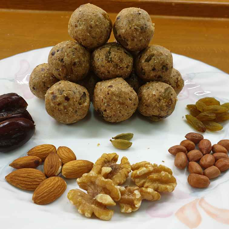 How to make Healthy Sugarfree Balls
