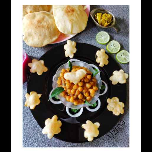 Photo of Chole Bhature by Uzma Ahmad at BetterButter