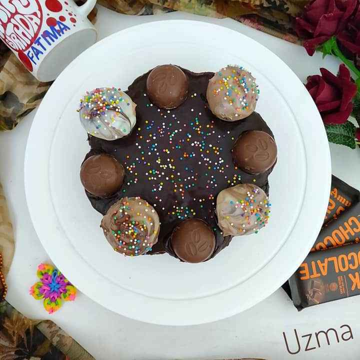 Photo of Eggless Chocolate Cake by Uzma Ahmad at BetterButter