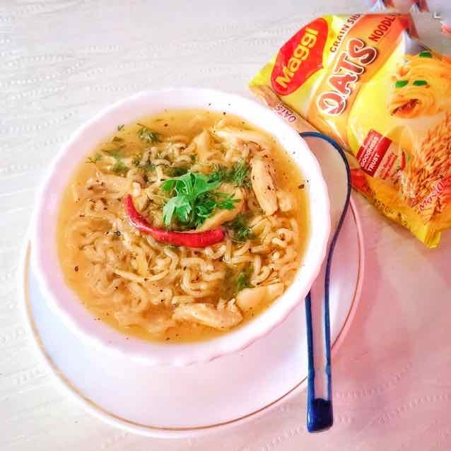 How to make Maggi Chicken Yakhni soup