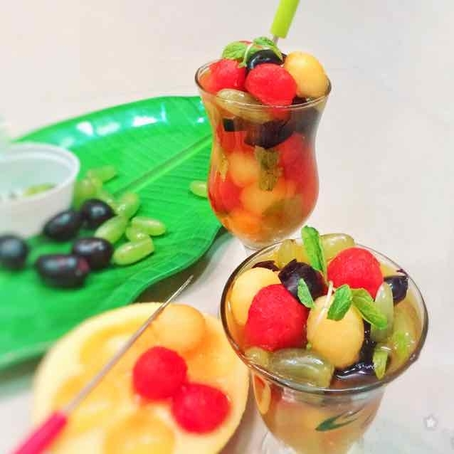 How to make Fruits Summer Delight