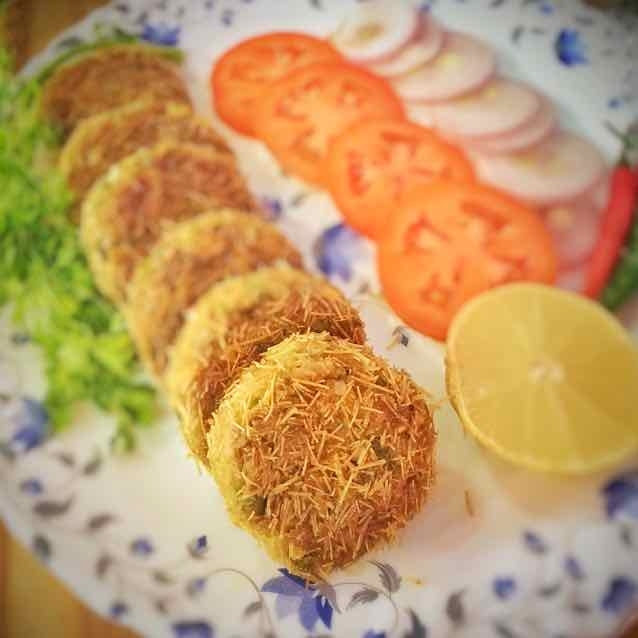 How to make Soya,Veg Kabab