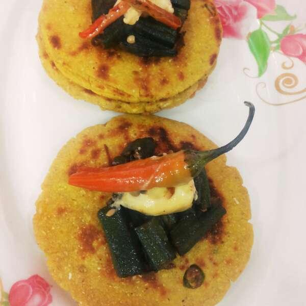Photo of mini maize chapati by uzma shouab at BetterButter