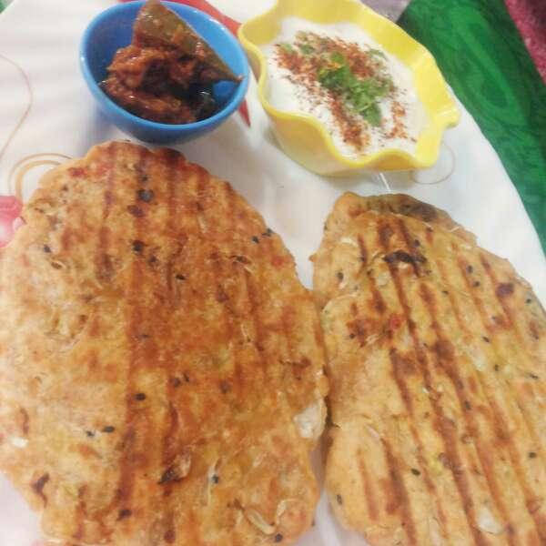 Photo of Grilled veg chapli naan by uzma shouab at BetterButter
