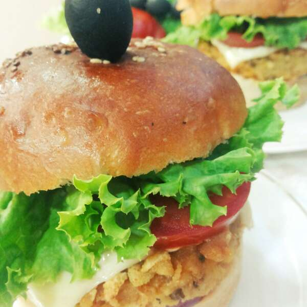 How to make Yam and Chickpea Burger