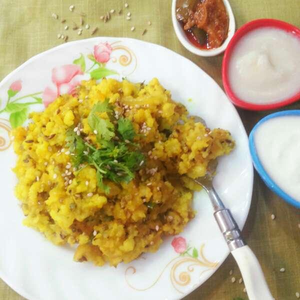 How to make Bajra and Rice Khichdi