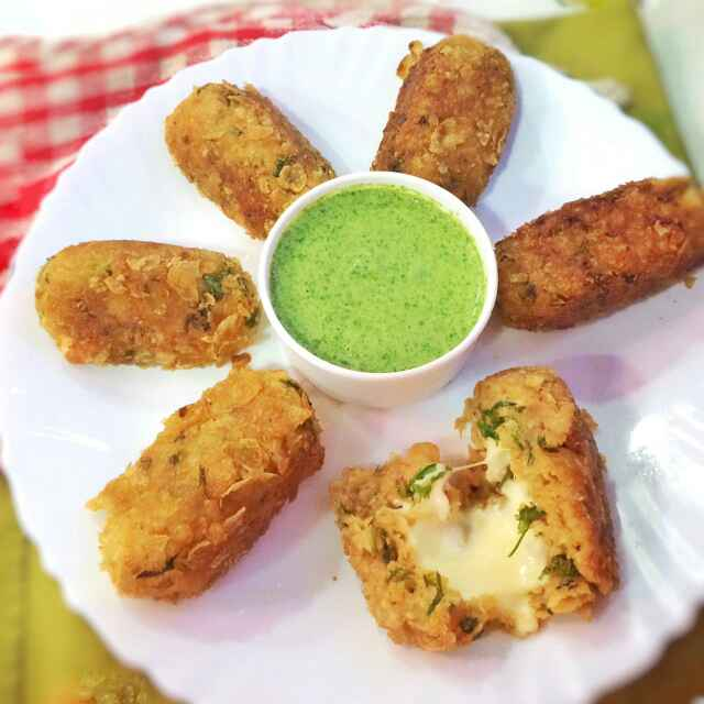 Photo of Raw banana aur cabbage ke croquettes  by uzma shouab at BetterButter