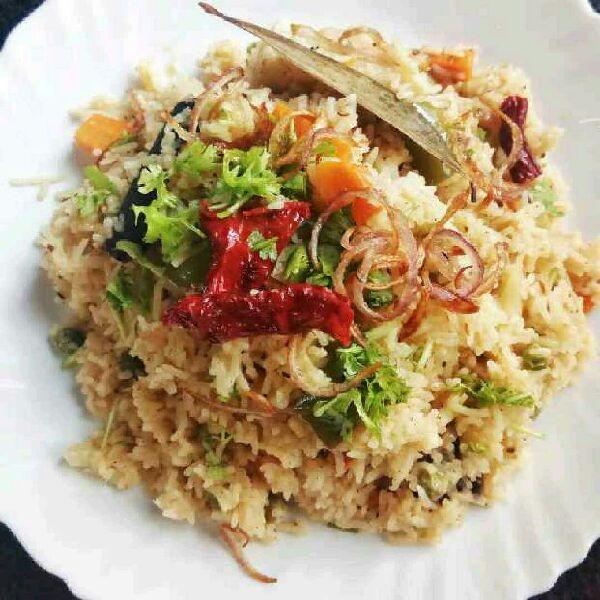 How to make Vegetables Yakhni Pulao