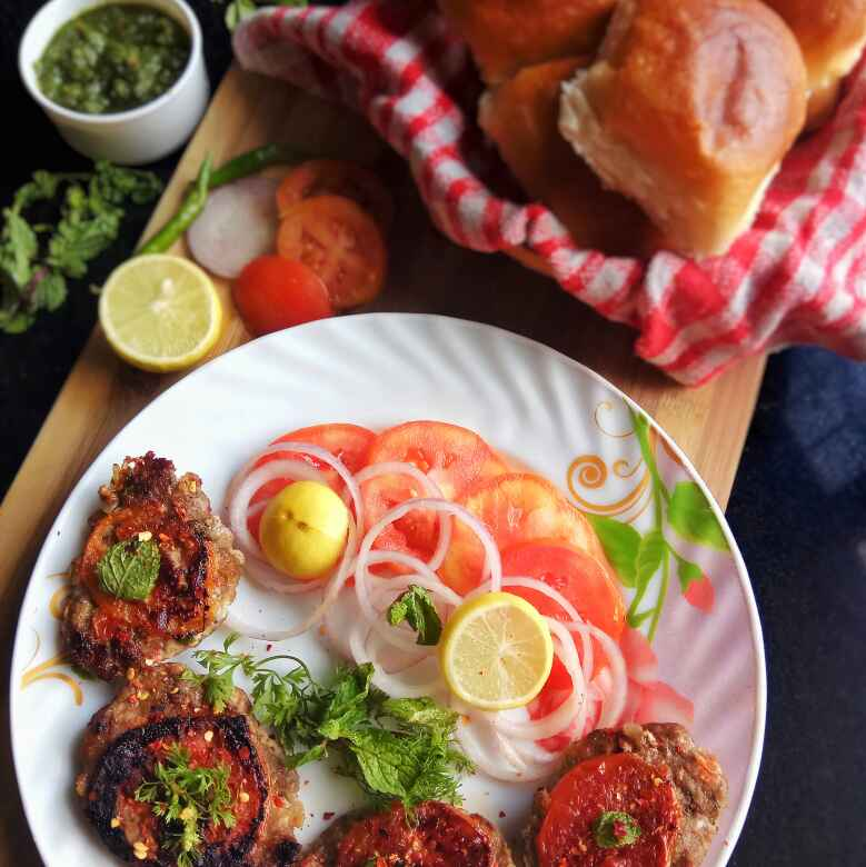 Photo of Chapli Kabab ( Peshawari Kabab) by uzma shouab at BetterButter