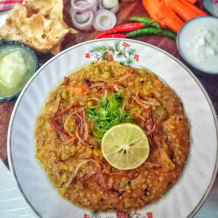 Photo of Bajra and mixed vegetable khichdi by Uzma Khan at BetterButter