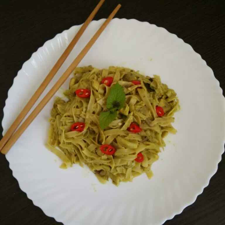Photo of Thai Green Curry Noodles by Vahitha Hasan at BetterButter