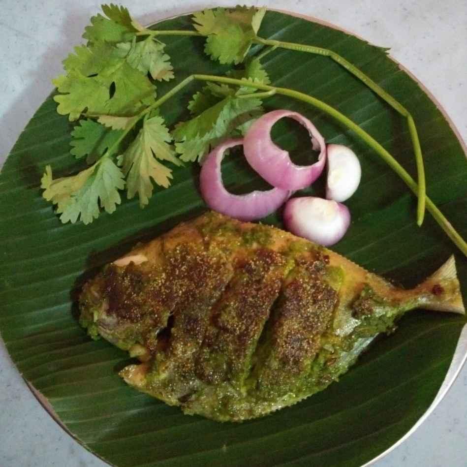 How to make Green Masala Fish Fry