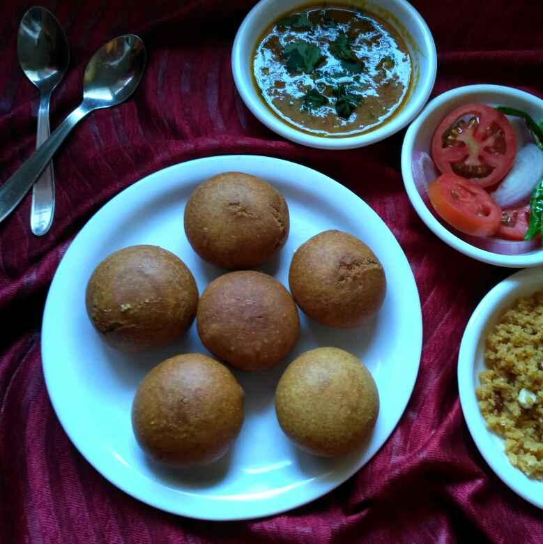 Photo of Fried baati by Vaibhav Kashiv at BetterButter