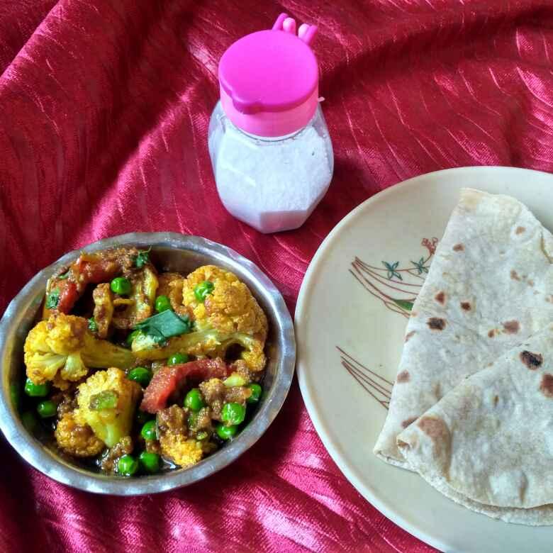 Photo of Fried gobhi matar by Vaibhav Kashiv at BetterButter