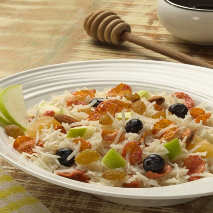 Photo of BREAKFAST RICE CEREAL WITH FRUITS AND RAISINS by Mishtann Basmati Rice at BetterButter