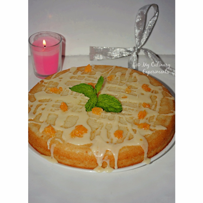 Photo of Eggless Orange Cake With Orange Drizzle by Vaishali Nagarajan at BetterButter