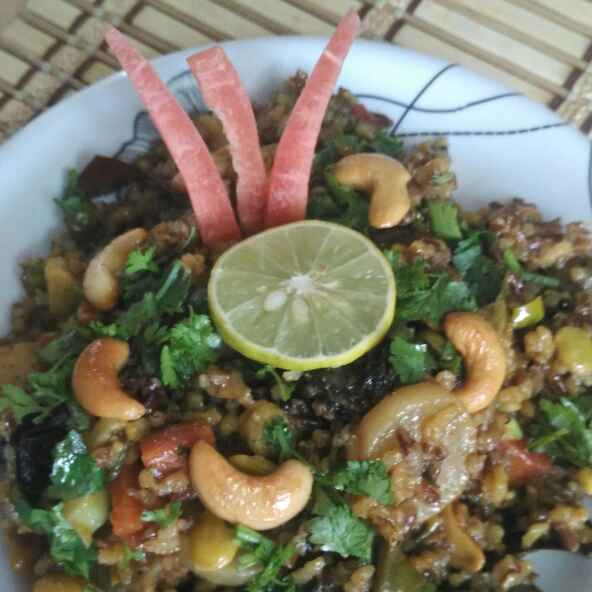 Photo of Fullloaded Veggies Masala Redrice by Vaishali Joshi at BetterButter