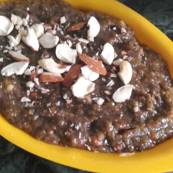 Photo of Instant Mungdal Halva by Vaishali Joshi at BetterButter