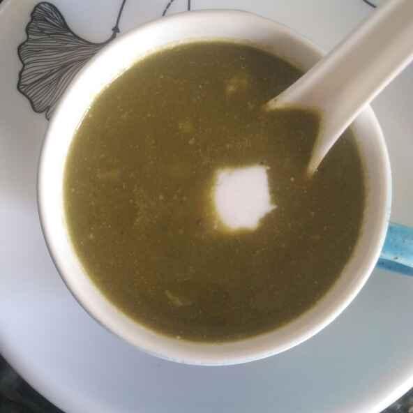 Photo of Creamy Palak Soup by Vaishali Joshi at BetterButter