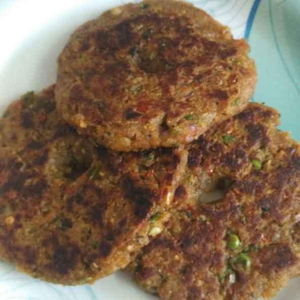 Photo of Mixed Bhajya aani Pohe che Mini Thalipith by Vaishali Joshi at BetterButter