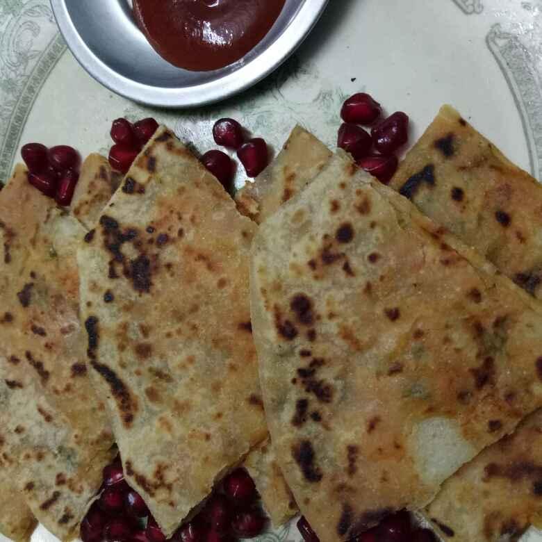 Photo of Sezwan stuff Partha by vaishali nandola at BetterButter