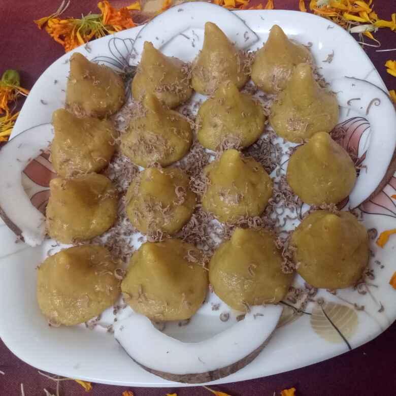 Photo of Mava Choconut Modak by vaishali nandola at BetterButter
