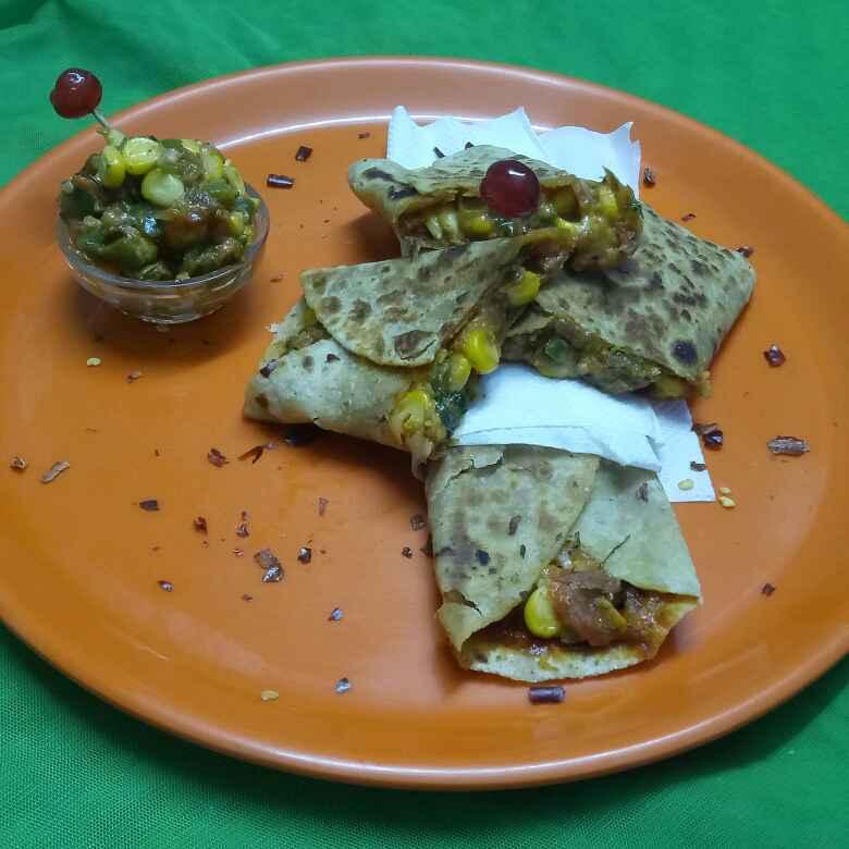 Photo of Mexican peri peri wrap by vaishali nandola at BetterButter