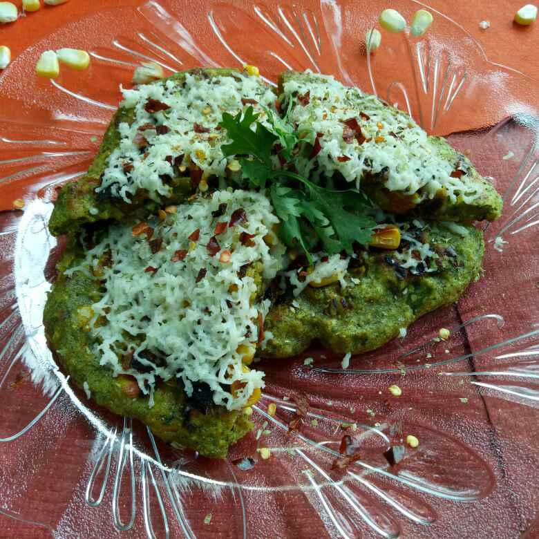 Photo of Moong pizza by vaishali nandola at BetterButter