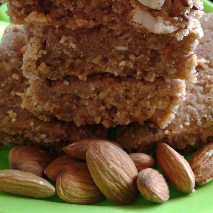 How to make Whole wheat flour and Nachni square